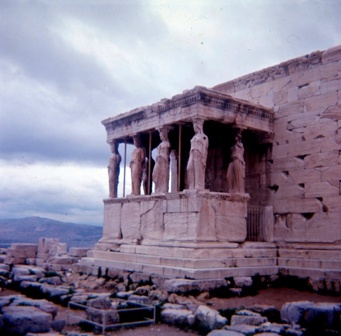 Caryatids of the Erechtheion - 1.