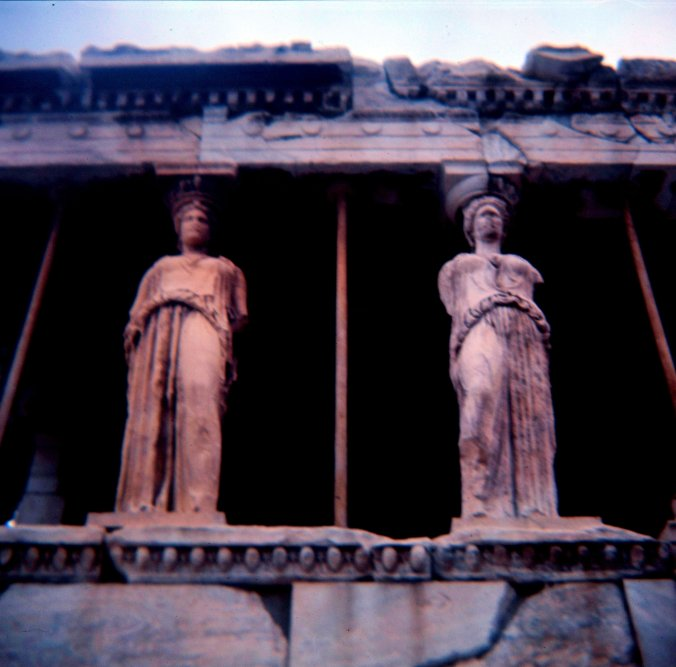Caryatids of the Erechtheion - 3.
