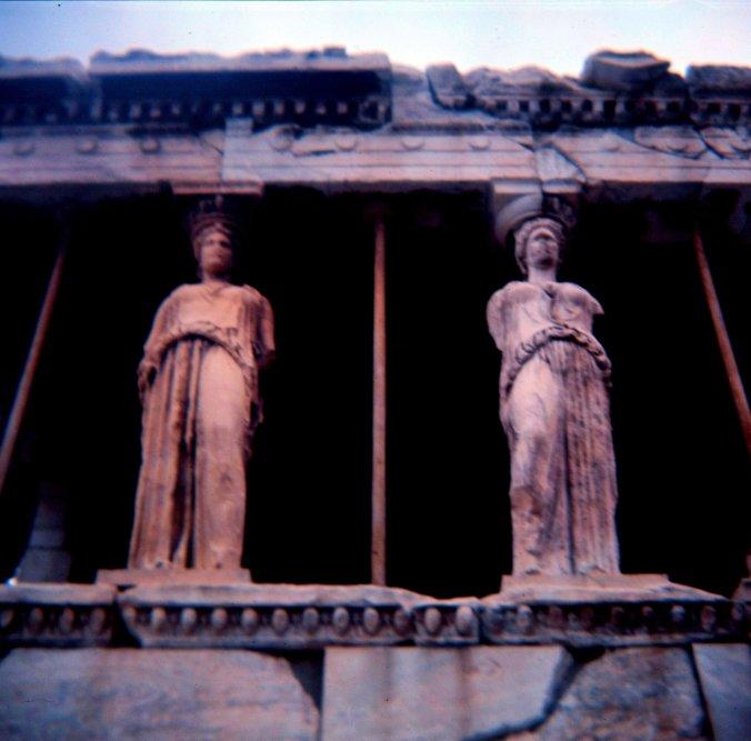 Caryatids of the Erechtheion - 3.