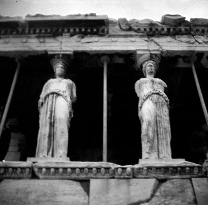 Caryatids of the Erectheion 3