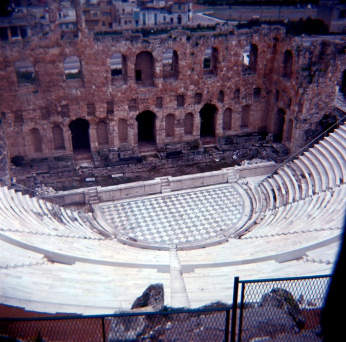 Odeon of Herodes Atticus.