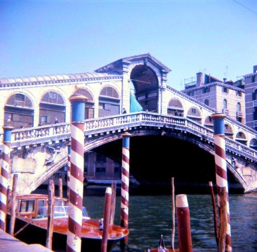 Rialto Bridge from the Left Bank.