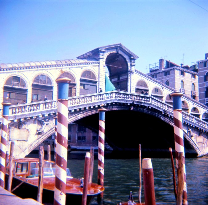 Rialto Bridge from the Left Bank.