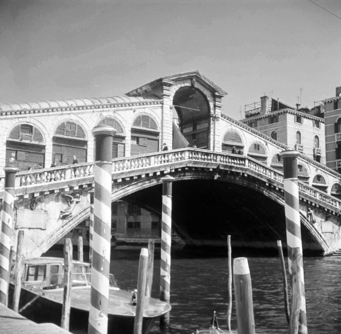 Rialto Bridge from the Left Bank