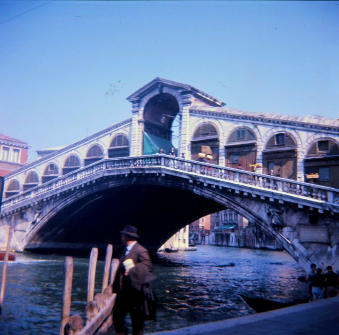 Rialto Bridge from the Right Bank.