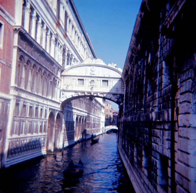 The Bridge of Sighs, Venice.