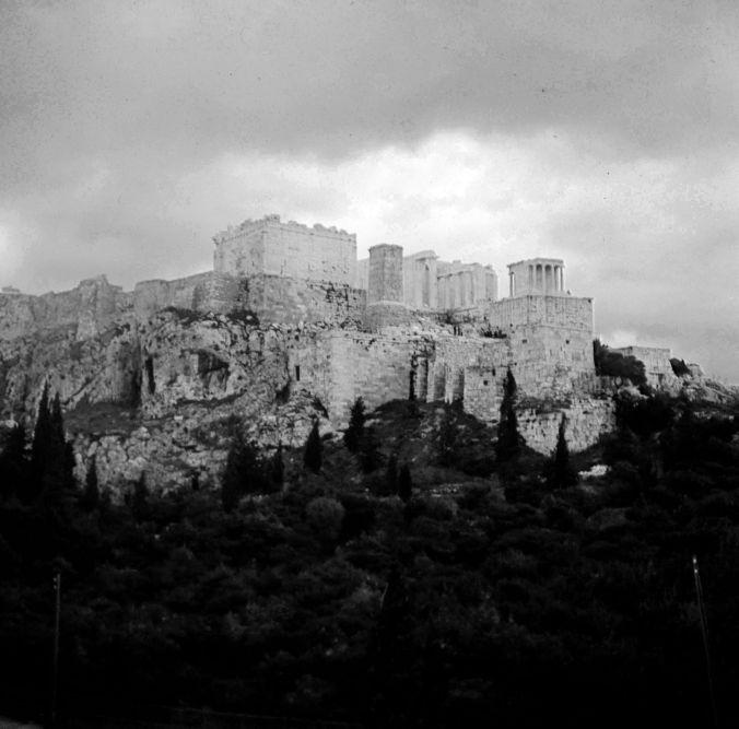 The coach to the Acropolis