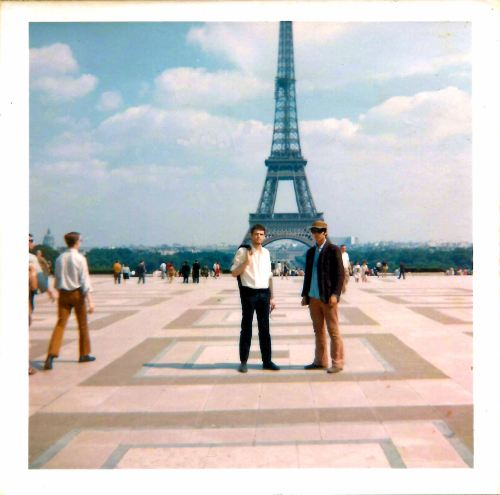 Le Tour Eiffel with Keith. 13th July 1969.