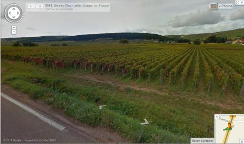 The D974 at Gevrey-Chambertin, Burgundy - 1