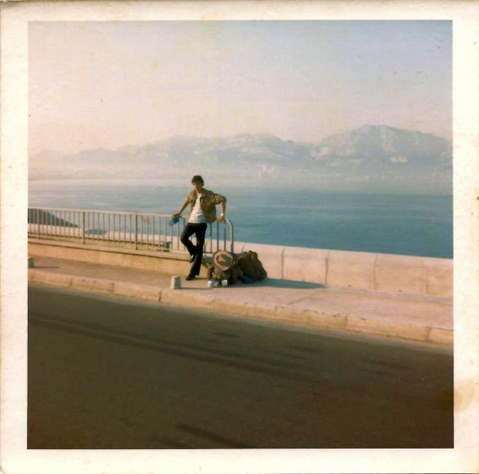 Pete, as we approach La Plage, Marseille, on what is now Corniche du Président John F Kennedy, Marseille. 7 a.m. 18th July 1969.