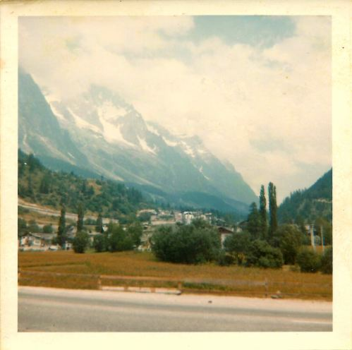 Mont Blanc from Italy - 1. 23rd July 1969.
