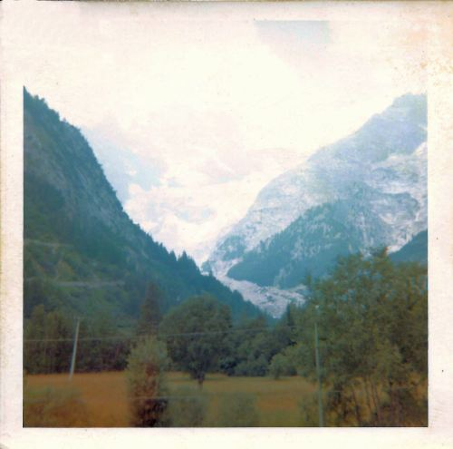 Mont Blanc from Italy - 2. 23rd July 1969.