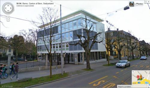 The British Embassy in Bern - 1. 24th July 1969. (Thunstrasse 50, 3005 Berne, Switzerland.)