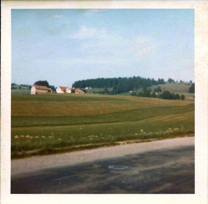 Leaving La Chaux-de-Fonds. 24th July 1969.