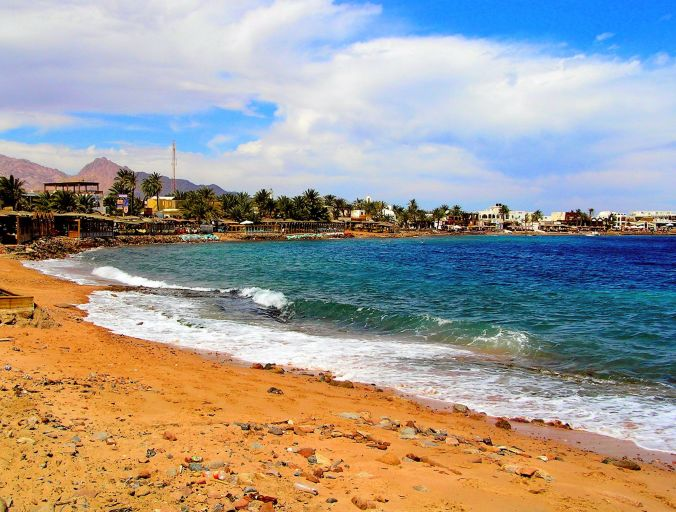 A Walk South Along The Beach In Dahab, Egypt. Dahab is the Egyptian Arabic word for gold and may be a reference to the colour of the sands to the south of the town itself. https://witness.theguardian.com/assignment/55afb147e4b0571ff3516306/1652715