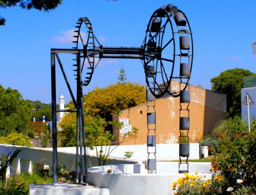 Portuguese Waterwheel 2 Settled in at the Ria Park Hotel & Spa, Vale do Lobo, 8135-951 Almancil, Portugal, I saw this old waterwheel on my way back from the beach. I hadn't seen and photographed an old waterwheel here since just before I arrived the previous day. https://witness.theguardian.com/assignment/5630c6f5e4b07e373ce97a23/1793535